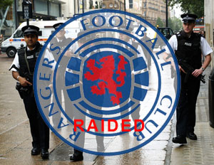 Police raid Rangers over corrupt transfers